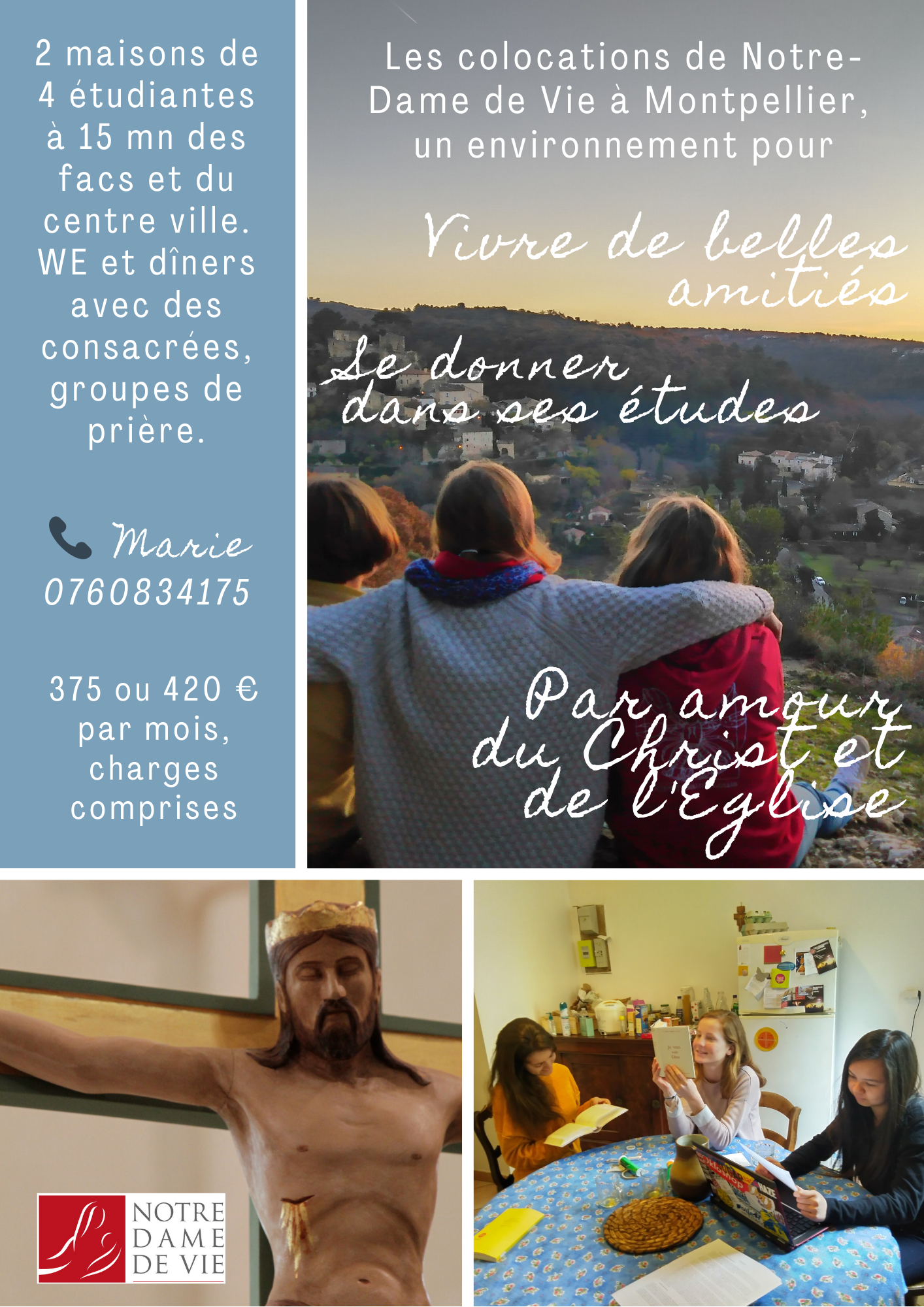 Colocations NDV Montpellier